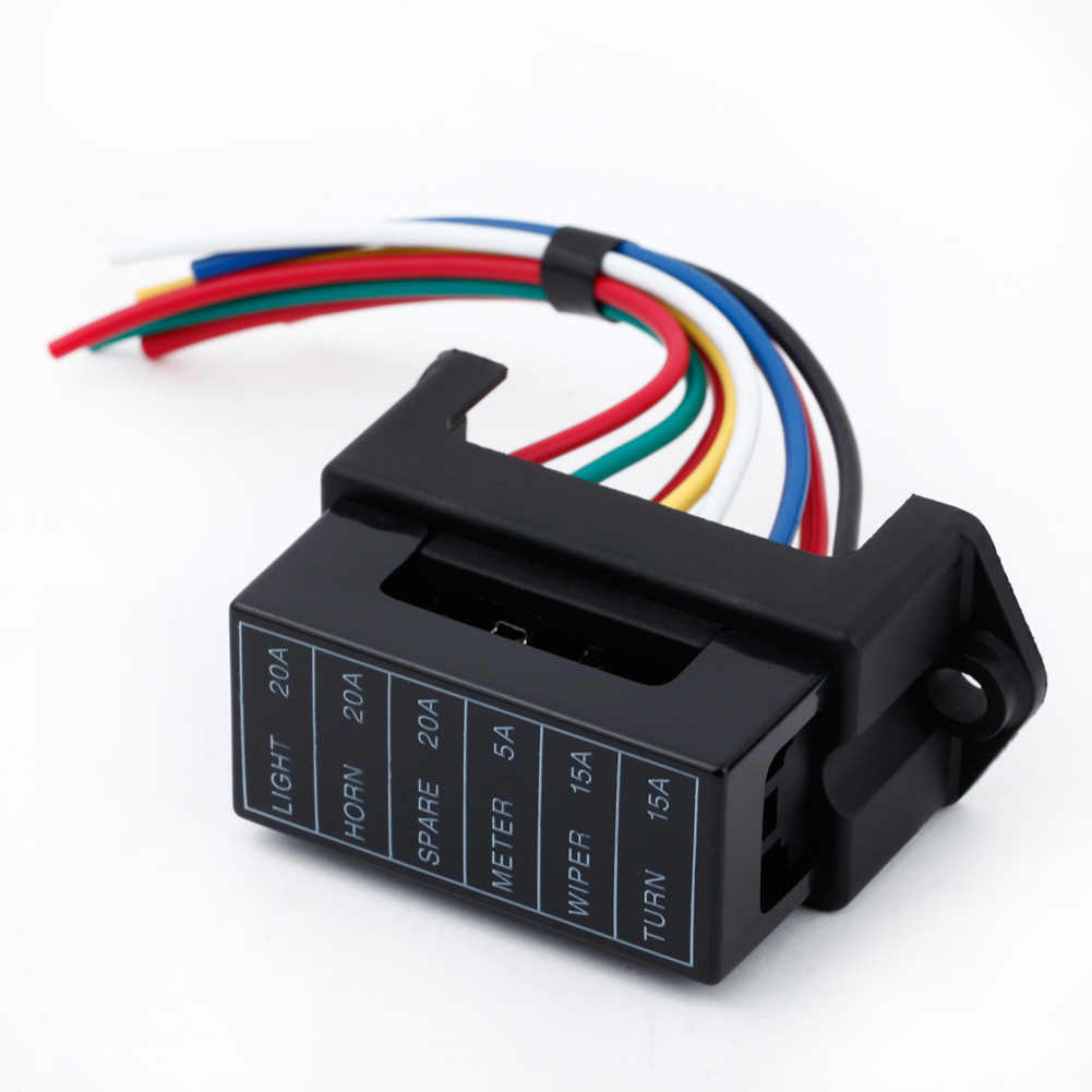 12v Dc Car Fuse Box - Catalogue of Schemas Dc Fuse Box on