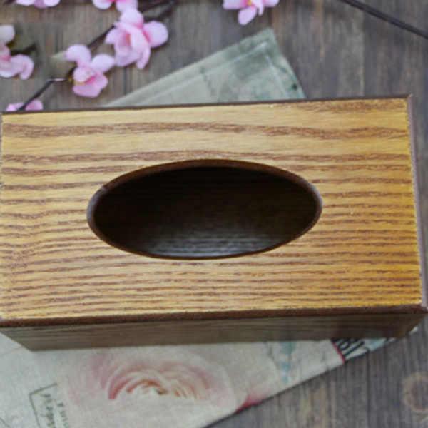 Простая Стойка для бумажного полотенца коробка деревянный ящик домашняя тканевая коробка кухня автомобиль бар украшение стола ресторана аксессуары поставки