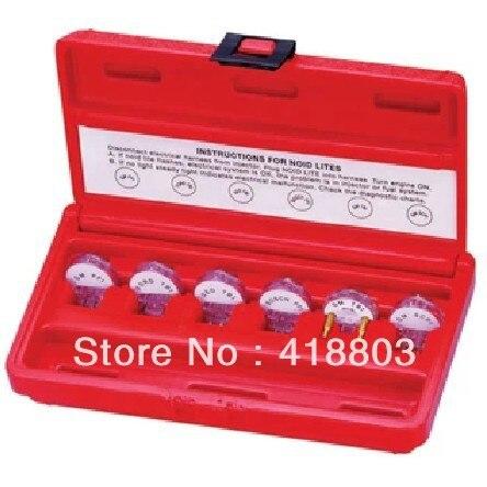 6pcs Injector Noid Light Test Kit