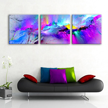 Drop Shipping Väggen Art Picture Home Decoration 3 Piece Canvas Paintings för vardagsrum Vägg Abstrakt Posters och Prints Modern