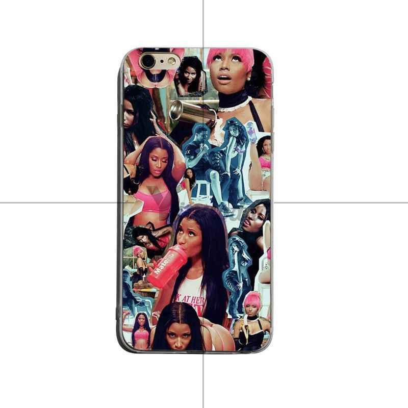 Yinuoda Nicki Minaj accessoires de téléphone haut de gamme de luxe étui pour iphone 8 8plus 7 7plus 6 s 6splus XSMax X XS XR