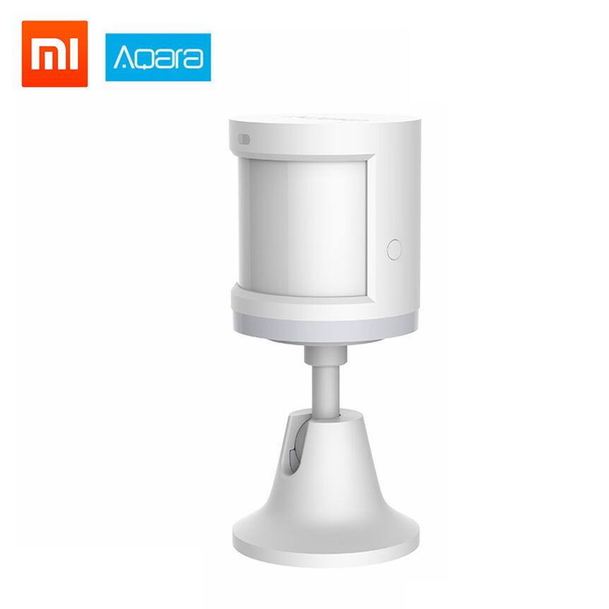 Xiaomi Mijia Aqara Human Body Sensor Light Intensity Motion Sensors ZigBee Wifi Wireless For Xiaomi Smart Home Mijia Mi Home APP