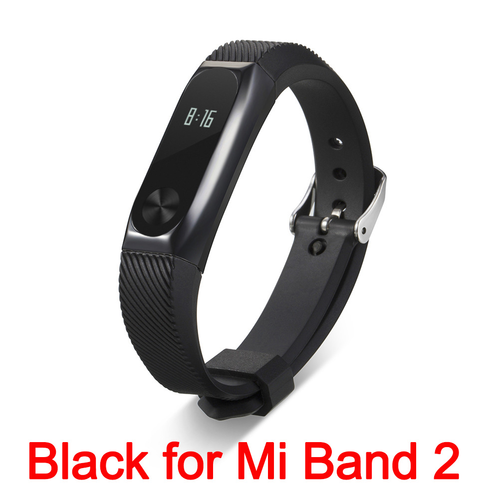 Xiaomi Mi Band 2 Fit Replacement Smart MI Band 2 Touchpad Screen Heart Rate Monitor Pedometer Wristband IP67 FitnessTracker 5