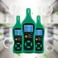 ELECALL EM91 Digital Smart Formaldehyde Gas Detector Gas Meter Formaldehyde Tester Sensor HCHO TVOC Meter Air