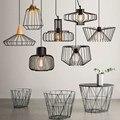 Nova Loft Luzes Pendentes Lâmpada com E27 edison Vintage Lâmpadas luminárias Nordic Estilo Retro Industrial Pendant iluminação 220 V