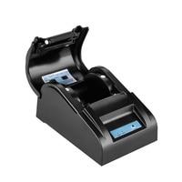 ZJ Impressora Térmica originais 5890 T Mini 58mm Low Noise POS Impressora de Recibos Térmica Com USB Porto DA UE PLUGUE|pos thermal receipt printer|receipt printer|thermal receipt printer -