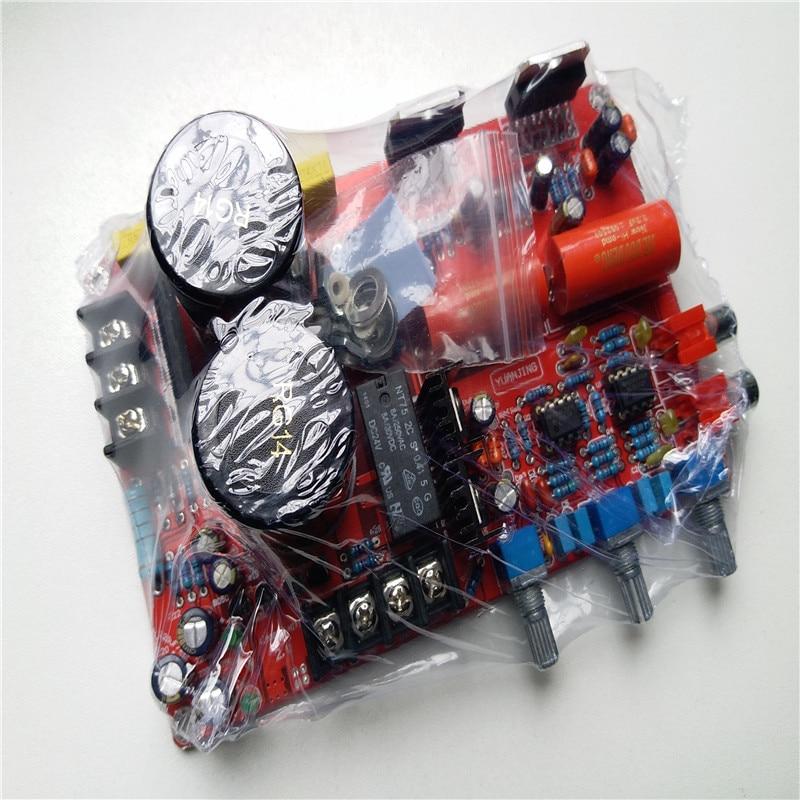 TDA7294 carte amplificateur nover condensateur 2.0 cahnel NE5532 TDA7294 amplificateur (avec tonalité) 2*85 W avec protection haut-parleur