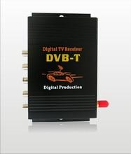 Receptor de TV Digital DVB-T MPEG-4 com Uma Única Antena para Monitores de Carro ou GPS DVD