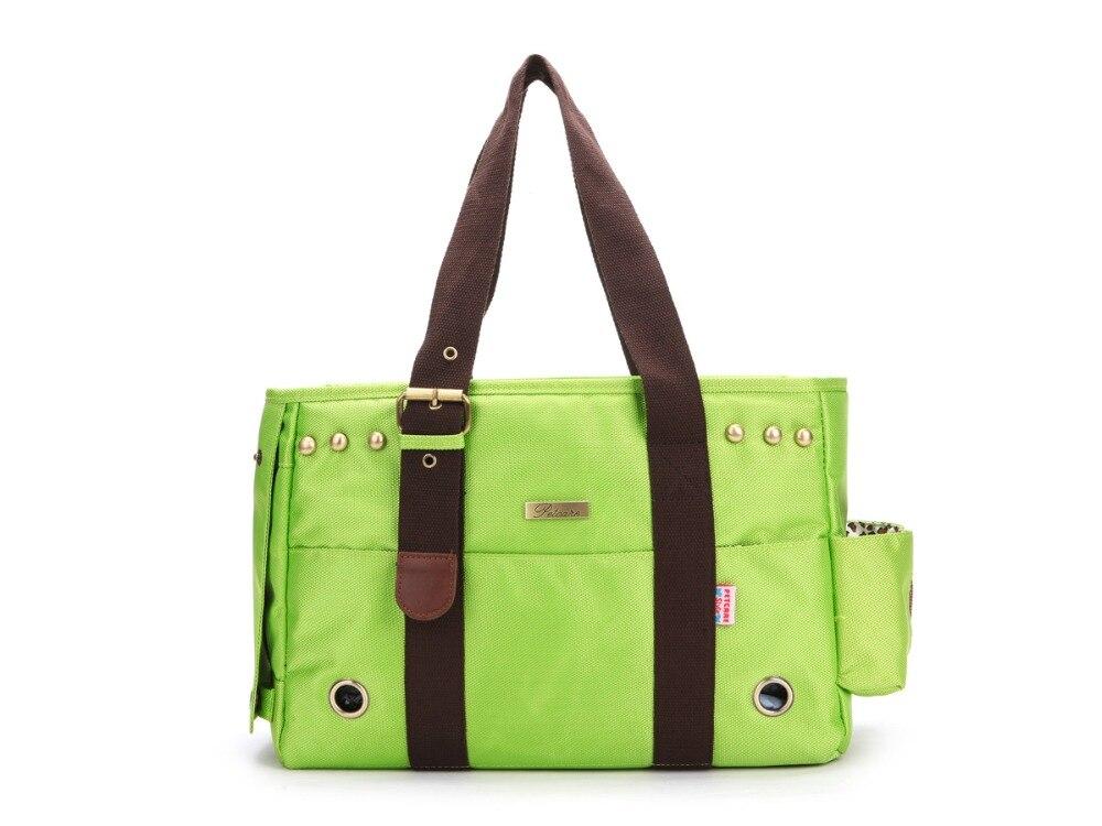 Animaux de compagnie chiens chats transporteur compagnie aérienne approuvé voyage en plein air sac Portable chien sac à main confort doux Oxford fourre-tout sac à main