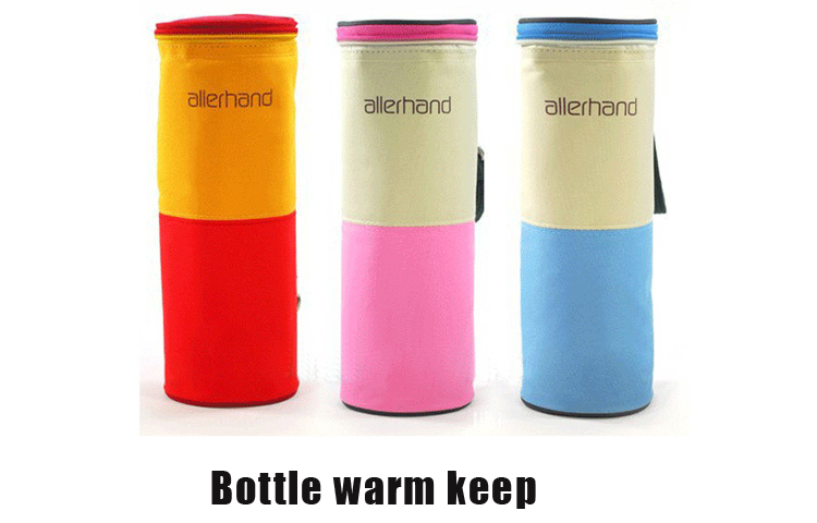 Sllerhand New Durable Insulation Bags Portable Thermal Kids Feeding Bottle Warmers Cover Baby Carriage Hang Bag