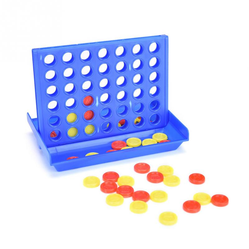 Connect Four In A Row 4 In A Line Science toys Game Kids Children Fun Educational Chess