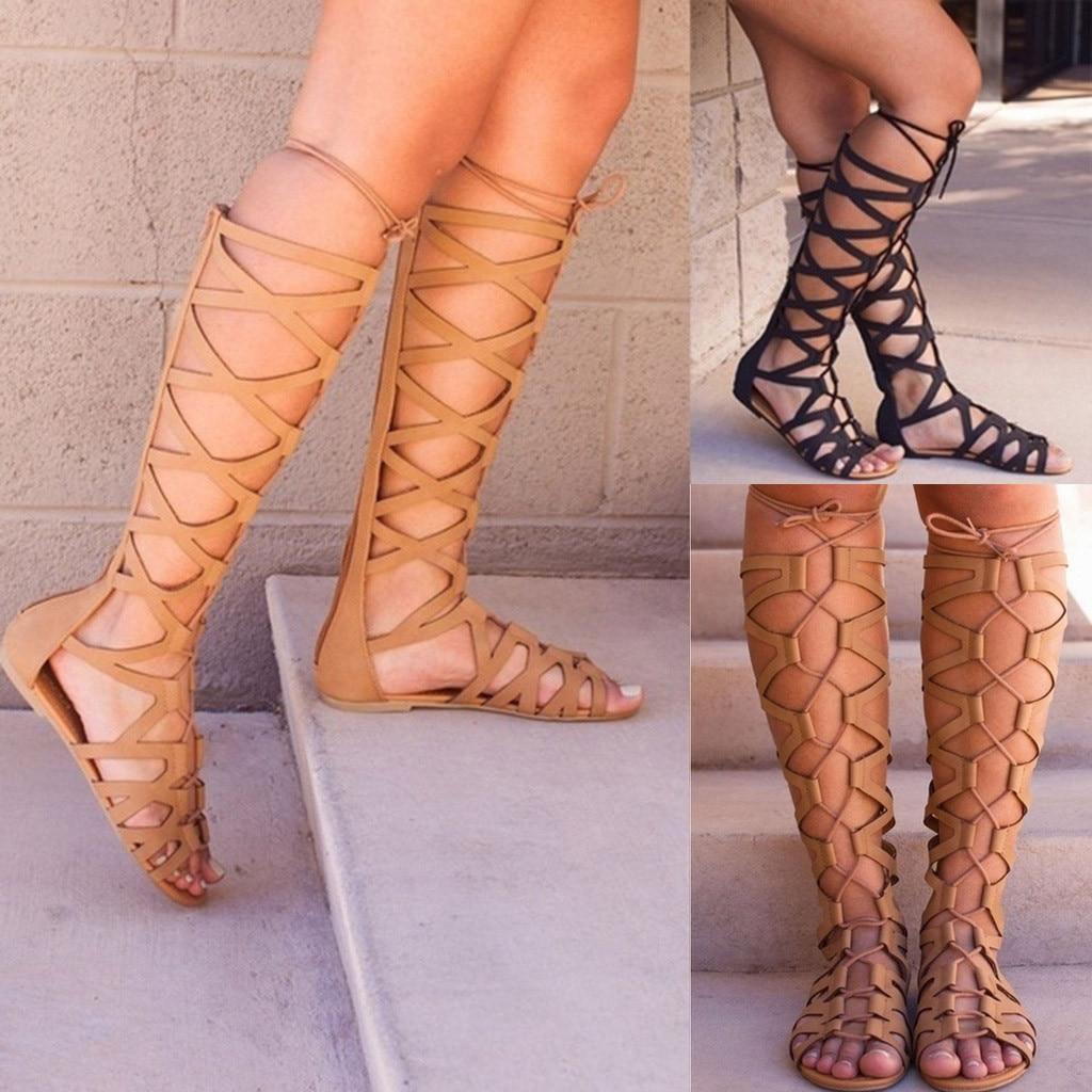Casual Mujeres Shose Moda Señoras Pisos Verano Sandalias Nn0Om8vw
