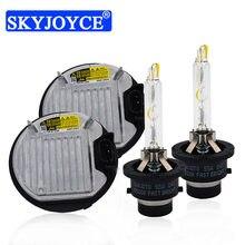 SKYJOYCE 55W D2S D4S HID Kit 85967-45010 DDLT004 D2S HID Ballast 5500K Fast Bright D2S D4S HID Bulb For Toyota Lexus Headlight