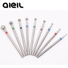 Сверло для ногтей алмазный Электрический фреза для Электрический маникюр ногтей дрель фрезы для фрезерного станка маникюр