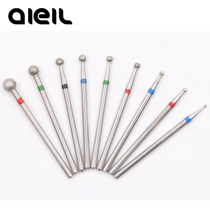 Nail Drill Bit Diamond Electric Milling Cutter For Manicure Electric Nail Drill Milling Cutters For Milling Machine Manicure