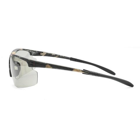 new Photochromic Chameleon Sunglasses Men Driving Polarized Sun glasses for men Half frame sunglasses Sport fashion Sunglasses Multan