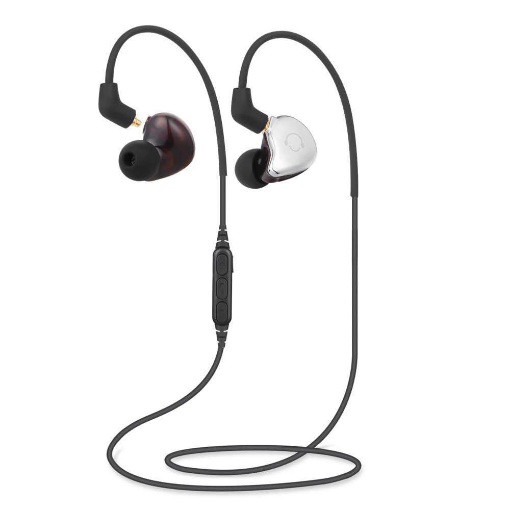 1pc High Quality Double-Use Wired/Wireless Earphones Bluetooth Sports Stereo Earphones For iPhone7 7 PLUS Mobile Phones #W