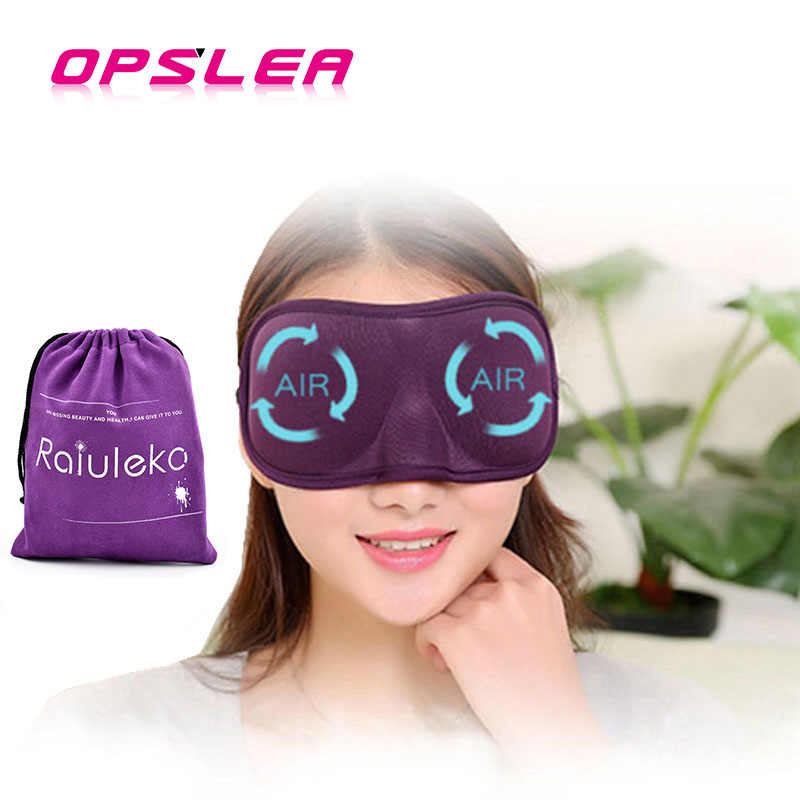 High Quality Soft  3D Eye Mask Sponge Shade Nap Cover Blindfold Mask Eyeshade Sleep Masks for Sleeping Travel