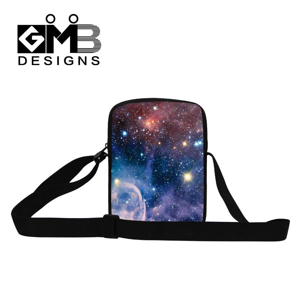 d2f4669fc10e3 Dispalang yıldız evren uzay baskı messenger çanta İşlevli erkek iş  crossbody çanta moda seyahat çantası en kaliteli