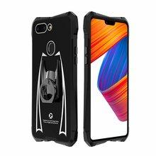 R-JUST металлический бампер телефона для OPPO R15   R15 мечта алюминий сплав+ акрил противоударный защитный чехол для телефона выбрать кольцо