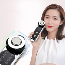Home RF RF Beauty Instrument Cold Hot Ccompress Import And Export Instrument Face Whitening Cleansing Instrument