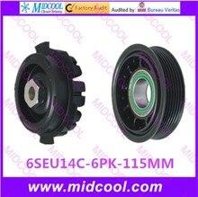 6SEU14C HIGH QUALITY AUTO AC COMPRESSOR CLUTCH 6PK 115MM 12V