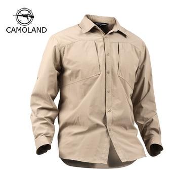 ea6b7b7fdf3 Product Offer. М-XXXL армия Для мужчин летние прочные рубашка быстросохнущая  ...