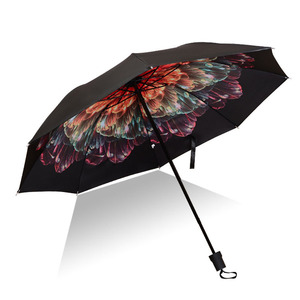 Men Women Sun Rain Umbrella UV