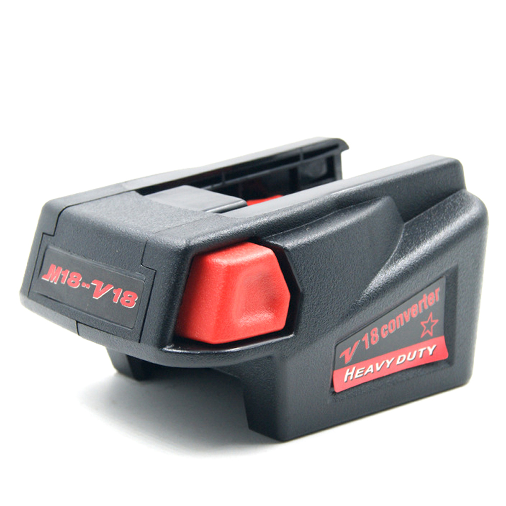 Powerful USB Cell <font><b>Adapter</b></font> Converter for Milwaukee M18 <font><b>18V</b></font> Li-ion Cell to V18 <font><b>18V</b></font> Cell Lithium Cordless USB Charge Tool image