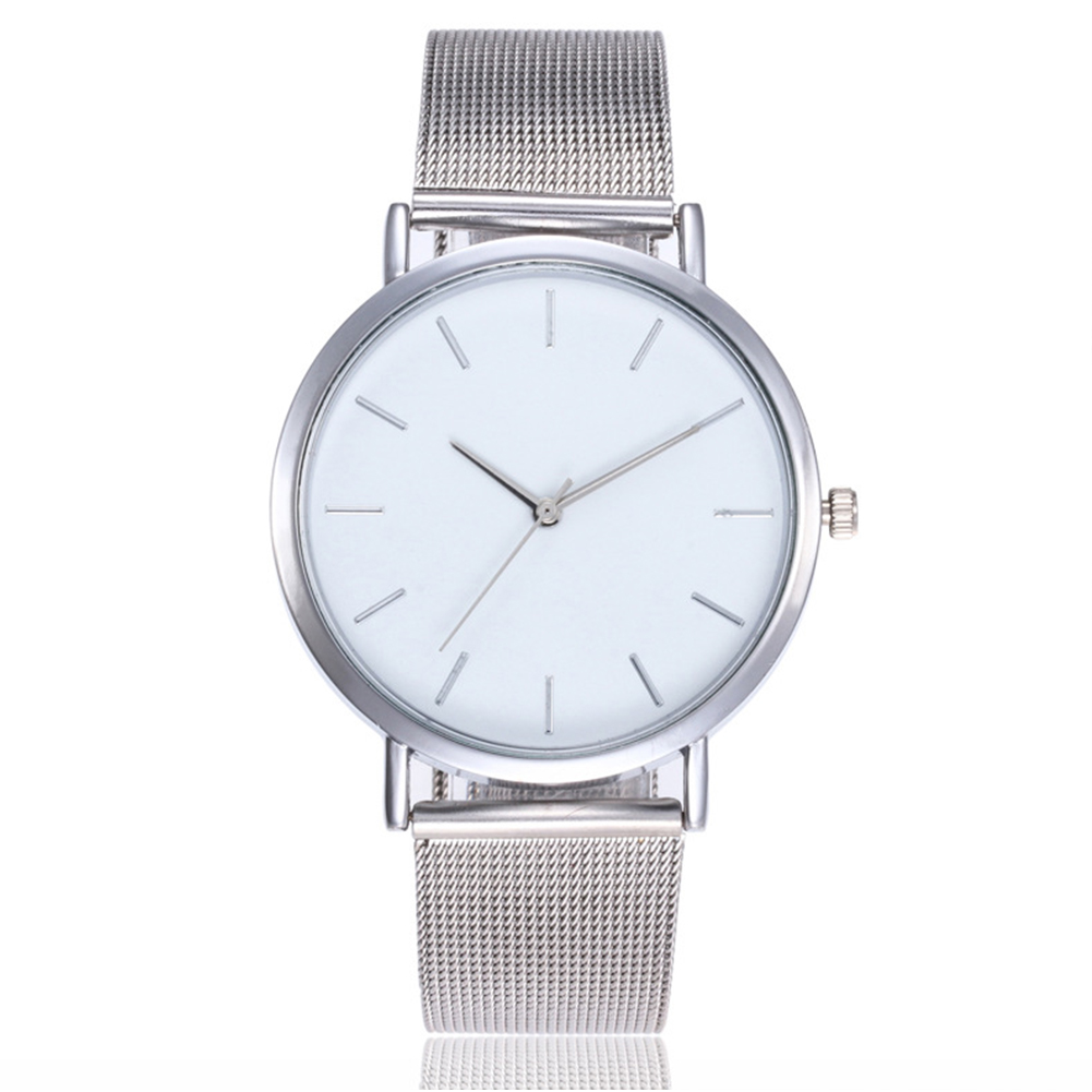 Women Mesh Stainless Steel Strap Watch Ladies Wrist Watch Wrist Casual Quartz Clock