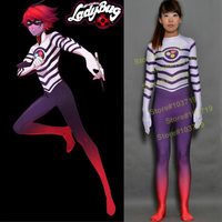 Linglong High Quality Custom Made Miraculous Ladybug Cosplay Costume Evillustrator Cosplay Costume