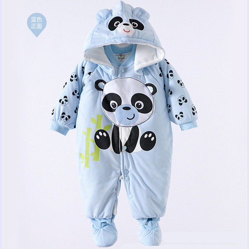 Baby Boy Girl Romper Suit Autumn Winter Long Sleeve Boxer Climb Clothes Baby Cotton Clothing Europe Even Body Suit Kids Coat cotton kids baby sets clothing winter newborn long sleeve autumn baby boy pants set suit baby boy set clothes baby girl outfits