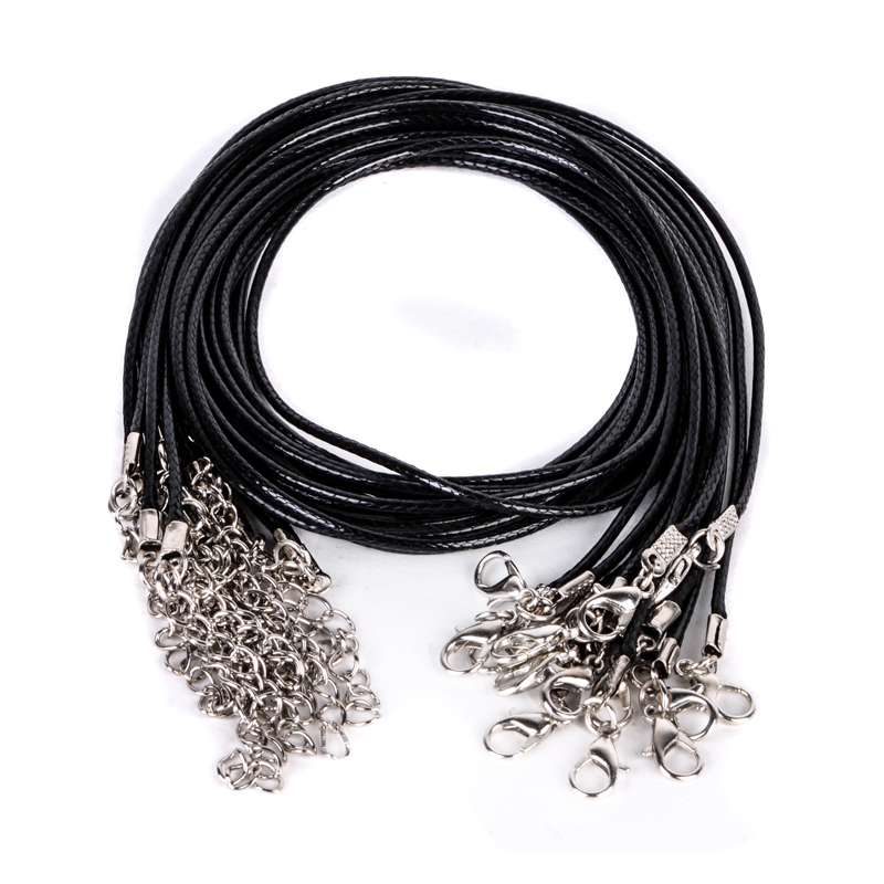 10pcs Jewelry accessories pu Leather cord DIY choker jewelry findings and components leather bracelet material leather cords 18