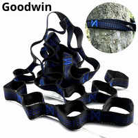 2018 Hammock Straps with 800ibs Classic Adjustable Stitching Hammock Tree Straps 24 Colors 15+1 Loops