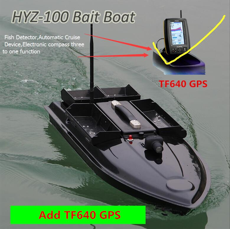 Remote Control Fishing Boat 7KG Bait Load 500M 4 Line 4 Bait Bin RC Distance Potable Rivers Sea RC Bait Boat Add GPS Fish Finder телескопы бинокли srate 6x24mm 500m finder