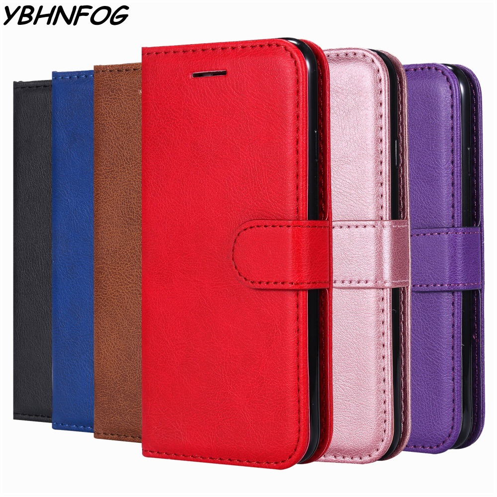Retro Flip Case For Samsung Galaxy J6 J4 Plus J1 J2 Pro J3 J5 J7 Prime 2016 2017 PU Leather Wallet Phone Bag Stand Cover Coque(China)