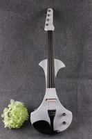 #17801 # New 4 corde 4/4 violino Elettrico di legno Massello aggiungere fret violino elettrico Chitarra collo violino