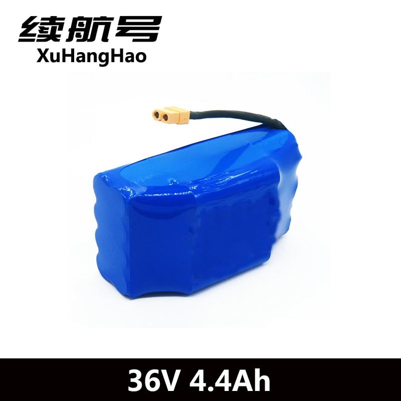 XuHangHao 36 В в 4.4Ah 4400 мАч высокий слив 2 колеса электрический скутер самобалансирующий литиевый аккумулятор для самобалансировки подходит 6,5
