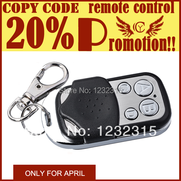 5PCS/Lot Universal remote control for garage door,smart home switch, face to face to copy