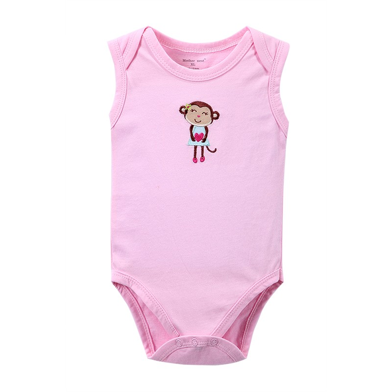 3 PCSLOT 2016 Newborn Baby Clothes Cotton Baby Bodysuit On Baby Romper Infant Animal Styles Boy Girl Long Sleeve Jumpsuit (6)