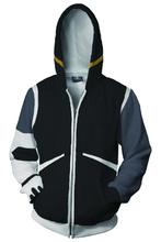 Voltron: Defender of the Universe Hoodie Black Lion Heero Hoodies 3D Printed Zipper Up Hooded Adult Men Casual Sweatshirts