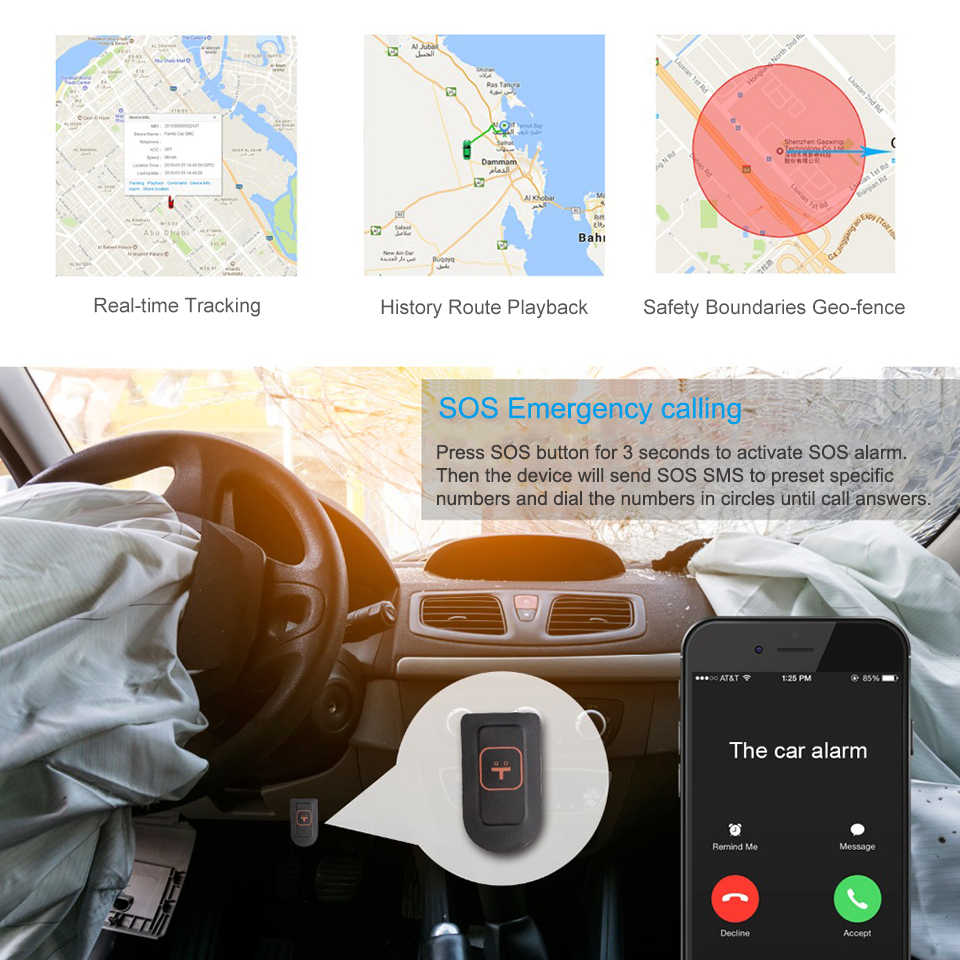JIMI Unique JC200 3G GPS Tracker Dual Lens Dash Camera With Live stream  video by Website APP Car Smart Cam SOS WiFi Oil Cut-off