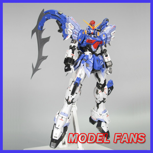 MODEL FANS IN-STOCK super nova GUNDAM W MG 1:100 Assembly mo kai ew Gundam Sandrock Custom action figure 1 100 age 2 normal mg up to the basic type of assembly model for assembly model