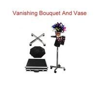 Vanishing bouquet e vaso/magic tricks/offerta speciale custodia/magic puntelli/magic prodotto