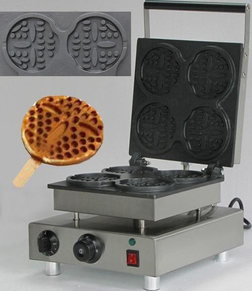 Waffle making machine; Waffle maker shapes Smile; Waffle maker on stick