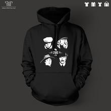 Free Shipping Peaky Blinders vinyl design men pullover hoodie hooded sweatershirt 800g organic cotton outside fleece inside