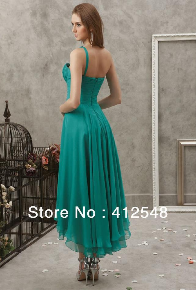 Bridesmaid Dresses Sale Casual Dresse Ugly Fuschia Adult V Neck Built In Bra  One Shoulder Sleeveless Empire Ruffles 2015 Outlet-in Bridesmaid Dresses  from ... 672051528e6e