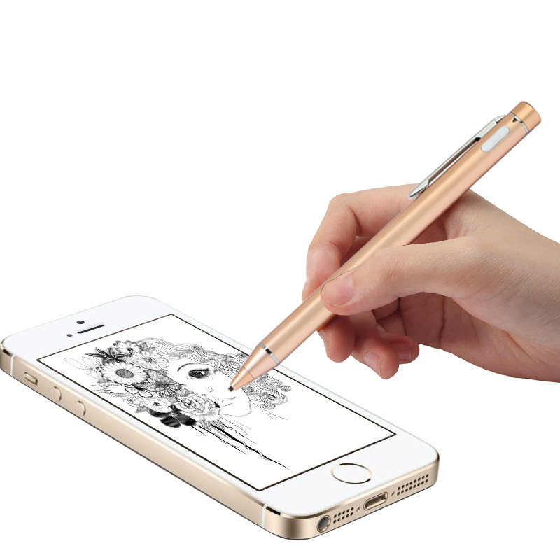 Cqhseedlings Active Capacitive Stylus For Samsung Galaxy Tab T580 T550 P580 T810 T820 Copper Pen Point Stylus For Touch Screen