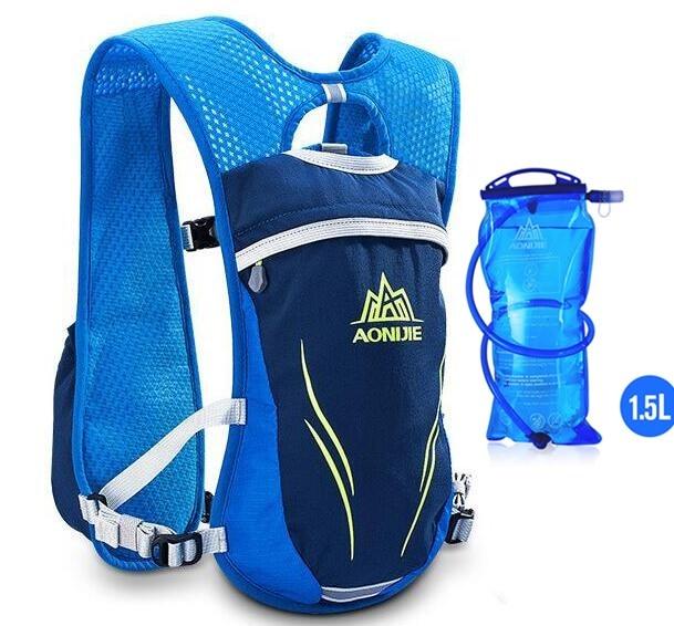 Blue water bag