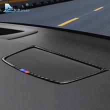 Скорости полета для BMW E70 X5 E71 X6 аксессуары 08-13 углеродного волокна салона динамик на приборную панель Крышка отделка наклейка украшение для автомобилей